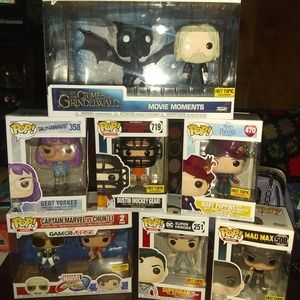 CHOICE of 4 Funko Disney Marvel More Pops